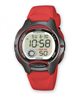 Montre Casio Collection Rouge LW-200-4AVEF