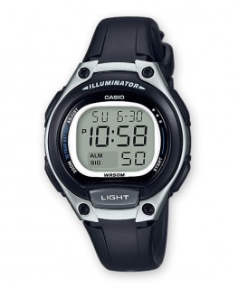 Montre Casio Collection Noir LW-203-1AVEF