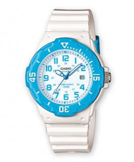 Montre Casio Collection Blanc et Bleu LRW-200H-2BVEF