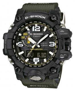Montre Casio G-Shock Premium Mudmaster Bracelet Kaki GWG-1000-1A3ER
