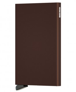 Porte-cartes Secrid Cardprotector Marron C-Brown