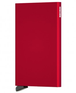 Porte-cartes Secrid Cardprotector Rouge C-Red