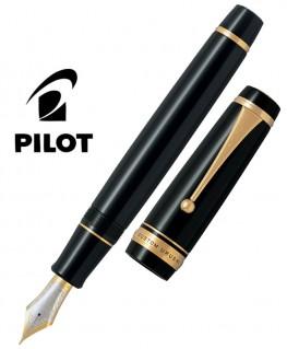 Stylo Plume Pilot Custom Urushi Laque Noire FKV-88SR-B-M
