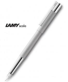 Stylo Plume Lamy Scala Acier Brossé 051