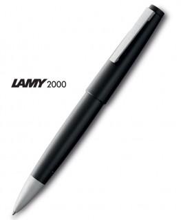 Stylo Roller Lamy 2000 Résine Noire Mate Mod.301