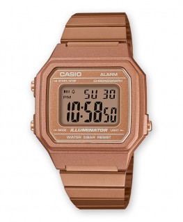 Montre Casio Vintage Rose Gold B650WC-5AEF