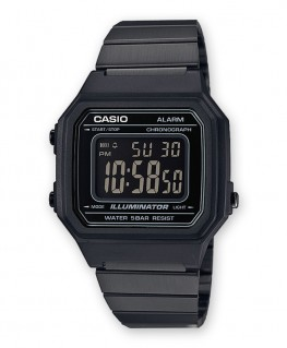 Montre Casio Vintage Black B650WB-1BEF