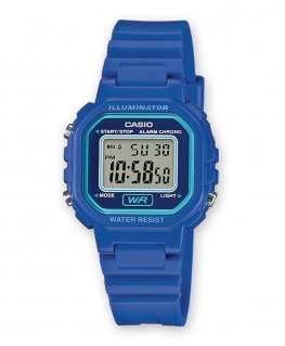 Montre Casio Collection Kids Bleu LA-20WH-2AEF