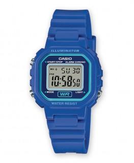 Montre Casio Collection Kids Bleu LA-20WH-2AEF