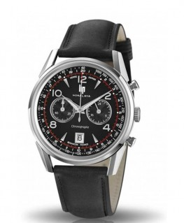 Montre Lip Himalaya 40mm Chronographe Quartz Bracelet Noir