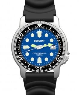 Montre Beuchat Lumitech Cadran Bleu BEU0515-2
