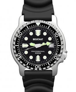 Montre Beuchat Lumitech Cadran Noir BEU0515-1