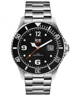 Montre ICE Watch Ice Steel Black Silver