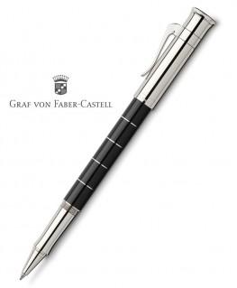 Stylo Roller Graf Von Faber Castell Classic Anello Résine Noire 145683