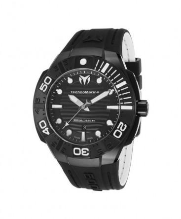 Montre Technomarine BlackReef Black -45% réf 513003