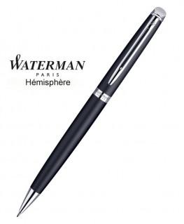 Stylo Porte-mine Waterman Hémisphère Noire Mate CT