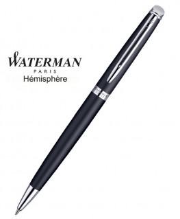 Stylo Bille Waterman Hémisphère Noir Mat CT