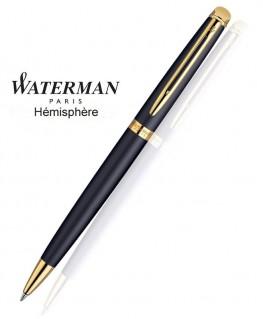 Stylo Bille Waterman Hémisphère Noir Mat GT