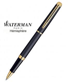Stylo Roller Waterman Hémisphère Noire Mate GT
