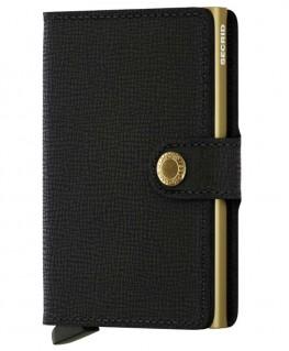 Secrid Miniwallet Crisple Black-Gold