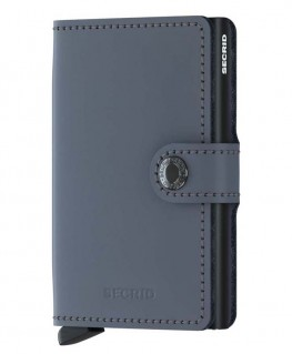 Secrid Miniwallet Matte Grey-Black MM-GREY-BLACK