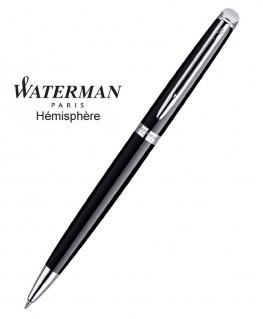 Stylo Bille Waterman Hémisphère Laque Noire CT réf S0920570
