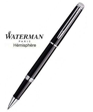 Stylo Roller Waterman Hémisphère Laque Noire CT réf S0920550