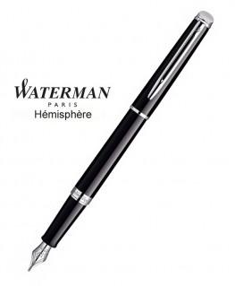 Stylo Plume Waterman Hémisphère Laque Noire CT réf S0920530
