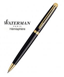 Stylo Bille Waterman Hémisphère Laque Noire GT réf S0920670