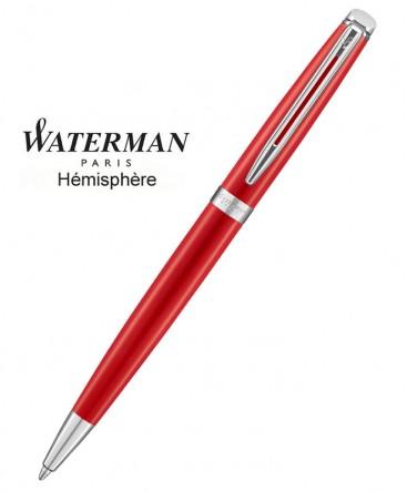 Stylo Bille Waterman Hémisphère Rouge Comète CT réf 2046601