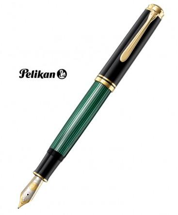 Stylo Plume Pelikan Souverain M1000 Noir et Vert Réf_987594