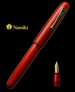 Stylo Plume Namiki Empereur Laque Rouge Vermillon Urushi Réf_FNF-148S-R
