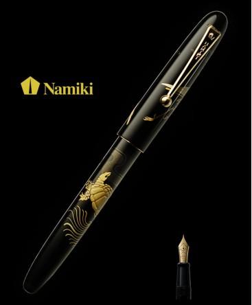 Stylo Plume Namiki Tradition Grue et tortue réf FN-5M-TK