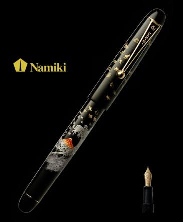 Stylo Plume Namiki Tradition Mont Fuji et Vague réf FN-35SM-FN