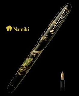 Stylo Plume Namiki Tradition Mont Fuji et Dragon réf FN-5M-UN