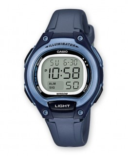 Montre Casio Collection Bleu réf LW-203-2AVEF