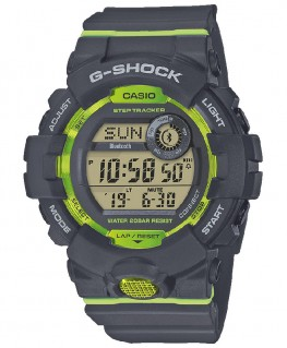 Montre Casio G-Shock Bluetooth Gris et Vert GBD-800-8ER