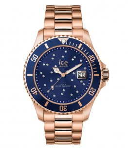 Montre ICE Watch Ice Steel Blue Cosmos Rose-Gold