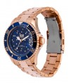 Montre ICE Watch Ice Steel Blue Cosmos Rose-Gold réf 016774