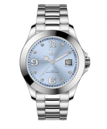 Montre ICE Watch Ice Steel Light Blue With Stones réf 016775
