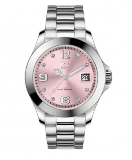 Montre ICE Watch Ice Steel Light Pink With Stones