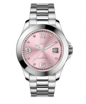 Montre ICE Watch Ice Steel Light Pink With Stones réf 016776