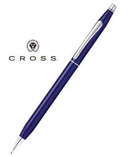 Stylo Mine Cross Century Classic Laque Bleue Translucide réf AT0083-112