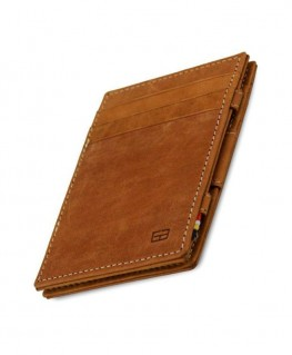 Portefeuille Garzini Essenziale Magic Vintage Camel Brown