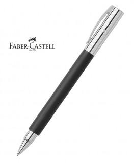 Stylo Roller Faber Castell Ambition Résine Noire Brossée