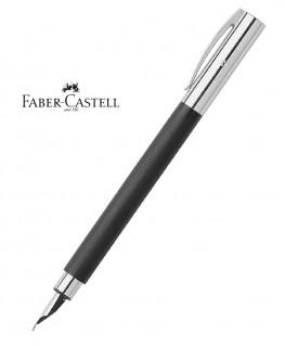 Stylo Plume Faber Castell Ambition Résine Noire Brossée