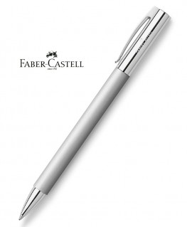 Stylo Bille Faber-Castell Ambition Metal Brossé