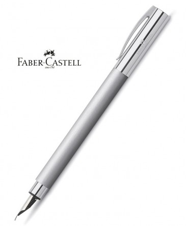 stylo-plume-faber-castell-ambition-metal-brosse-ref_148390
