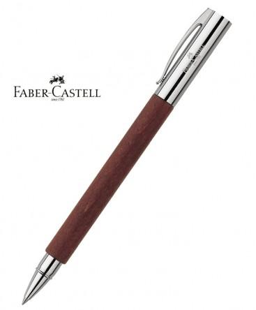 stylo-roller-faber-castell-ambition-bois-de-poirier-ref_148111