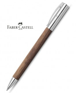 Stylo Bille Faber Castell Ambition Bois de Noyer